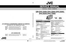 Buy JVC GR-DVL220U 320U 520U 522U 720U Service Schematics by download #130474