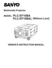 Buy Sanyo PLC-8815E Manual by download #174720