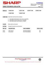 Buy Sharp VCMH60HM-002 Service Schematics by download #159038