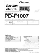 Buy PIONEER R2001 Service Data by download #149353