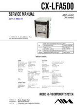 Buy AIWA CX-LFA500 TECHNICAL INFO by download #125261