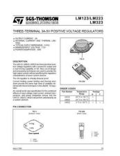 Buy SEMICONDUCTOR DATA LM323KJ Manual by download Mauritron #189197