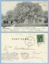 Buy CT Branford Trinity Episcopal Church Photo Type View Of Tree Shrouded Chur~424
