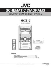 Buy JVC HX-Z1 PART TECHNICAL DATA by download #131069