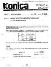 Buy Konica 45 DRUM SHIFT CONDUCTIVE GR Service Schematics by download #136193
