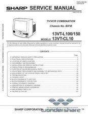 Buy Sharp 13VTL100-L150-CL10 SM GB Manual.pdf_page_1 by download #177706