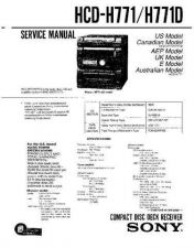 Buy SONY HCDH450 CDC-1409 by download #159521