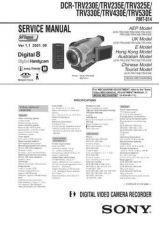 Buy SONY DCR-TRV230E Service Manual by download #166710