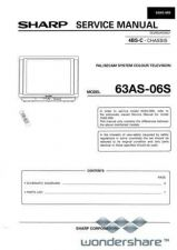 Buy Sharp 63AS06S SM GB(1) Manual.pdf_page_1 by download #178773