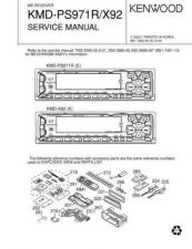 Buy KENWOOD KMD-D401 Technical Info by download #151916
