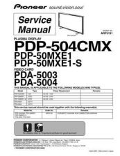 Buy PIONEER A3191 Service Data by download #152431