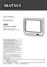 Buy Sanyo Service Manual For 21MT2 SM-Only Manual by download #175507