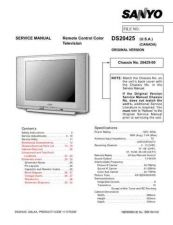 Buy Sanyo DS20424(SM) Manual by download #174012