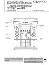Buy KENWOOD RXD251 RXD301 RXD351 RXD371 RXDA3 Service Manual by download #152031