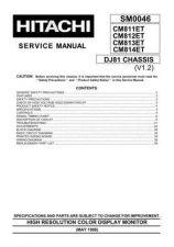 Buy Hitachi CM811ET-CM812 Manual by download #170908