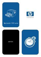 Buy HP LASERJET 1000 SERVICE MANUAL by download #147554