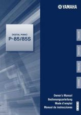 Buy Yamaha P85_EN_OM_C1 Operating Guide by download Mauritron #204012
