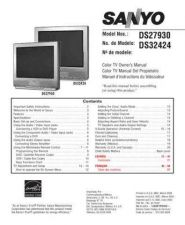 Buy Sanyo DS32225(SM780102-05) Manual by download #174083