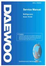 Buy Daewoo Model FR-170,171 Manual by download #168588