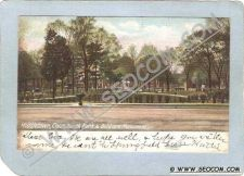 Buy CT Middletown Postcard South Park & Soldiers Monument Street Scene Undivid~1344