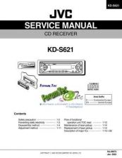Buy JVC KD-S621 by download #131182