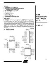 Buy INTEGRATED CIRCUIT DATA AT89C51J Manual by download Mauritron #186542