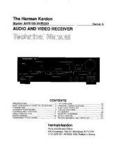 Buy Harman Kardon AVR100 PRELIMINARY SM Manual by download Mauritron #185584