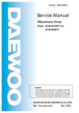 Buy Daewoo R81B52S001(r) Manual by download #168953