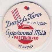 Buy CT Middletown Milk Bottle Cap Name/Subject: Daniels Farm~57