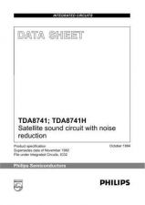Buy SEMICONDUCTOR DATA TDA8741J Manual by download Mauritron #191053