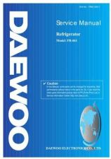 Buy Daewoo Model FF-115 Manual by download #168568