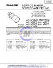 Buy Sharp ANLV40EZ895 Manual by download #179300