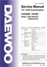 Buy Daewoo DVQ9H1FC SPECS Manual by download Mauritron #184194