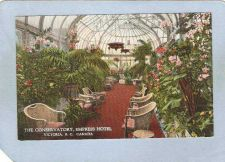 Buy CAN Victoria Postcard The Conservatory Empress Hotel can_box1~220