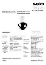 Buy Sanyo VCC-9530 CD Manual by download #177382