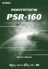 Buy Yamaha PSR160E Operating Guide by download Mauritron #204083