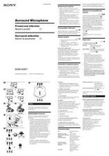 Buy SONY ECM-CQP1 CZ-SCREEN OPERATING GUIDE by download #166789