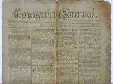 Buy CT New Haven Newspaper Title: Connecticut Journal Date: Apr-19-1797~9