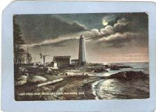 Buy CT New Haven Lighthouse Postcard New Haven Lighthouse lighthouse_box1, ct_~106