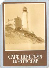 Buy DE Cape Henlopen Lighthouse Postcard Cape Henlopen Lighthouse lighthouse_b~651