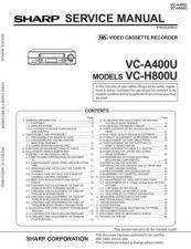 Buy Sharp VC651H-004 Service Schematics by download #157965