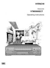 Buy Hitachi VTMX900ECT IT Manual by download #171132
