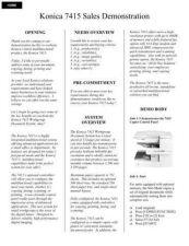 Buy Konica DEMOSCPT Service Schematics by download #135684