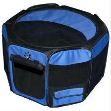 Buy Pet Gear Travel Lite Soft-Sided Pet Pen Large Ocean Blue
