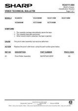 Buy Sharp VCA111HM-006 Service Schematics by download #158036