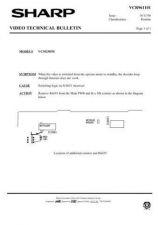 Buy Sharp VCM26HM-003 Service Schematics by download #158788