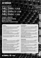 Buy Yamaha MG206CUSB EN OM A0 Operating Guide by download Mauritron #204841