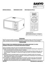 Buy Sanyo Service Manual For EM-S104BEUK Manual by download #175845
