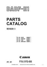 Buy Canon DADF-H1PC Service Schematics by download #135180