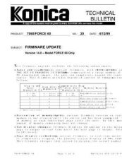 Buy Konica 20 Service Schematics by download #135475